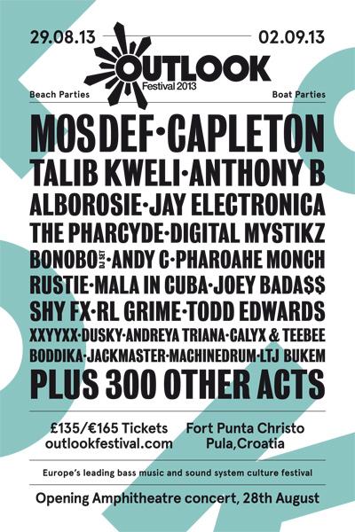 Outlook Festival 2013