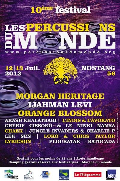 Percussions Du Monde 2013