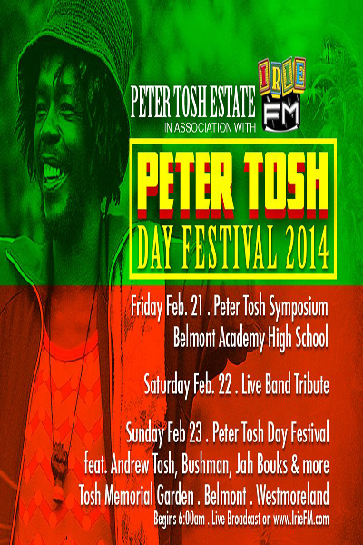 Peter Tosh Day Festival 2014