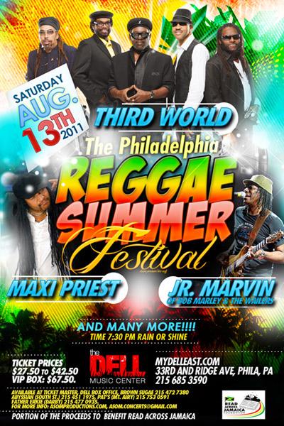Philadelphia Reggae Summer Festival