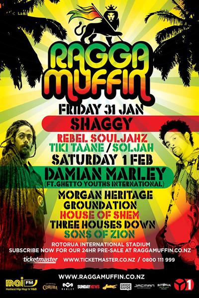 Raggamuffin Festival 2014