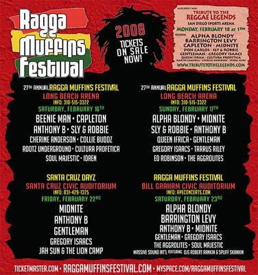 Ragga Muffins Festival 2008