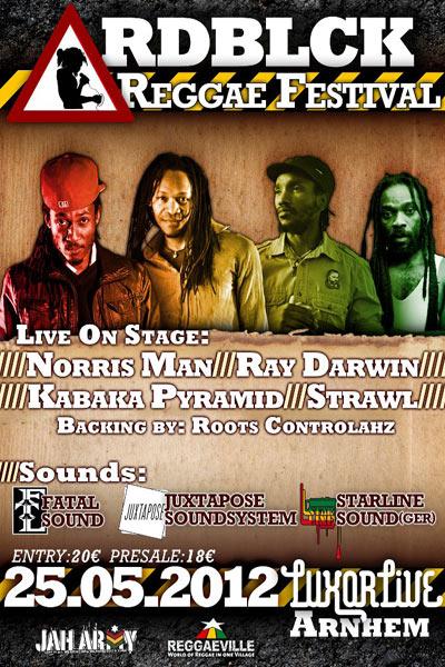 RDBLCK Reggae Festival 2012