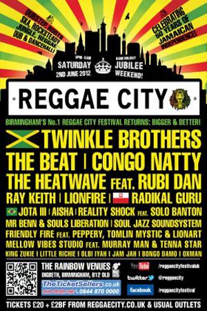 Reggae City 2012