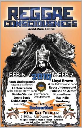 Reggae Consciousness 2010
