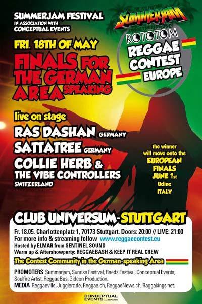 Reggae Contest Europe: German Final