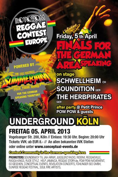 Reggae Contest Europe - German Final 2013