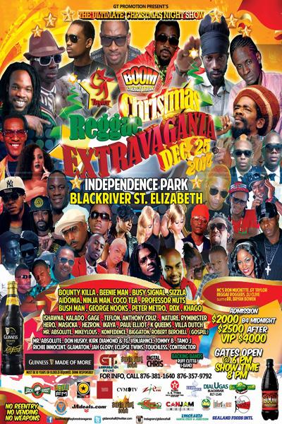 Christmas Reggae Extravaganza 2014