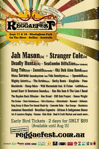 Reggaefest 2011