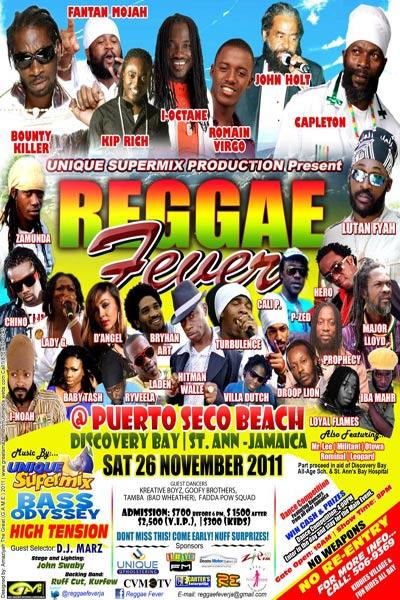 Reggae Fever 2011