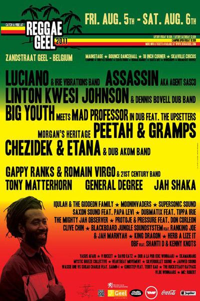 Reggae Geel 2011