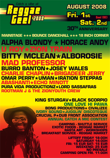 Reggae Geel 2008