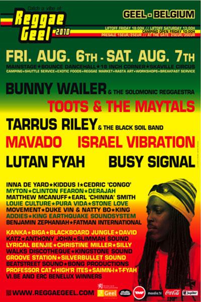 Reggae Geel 2010
