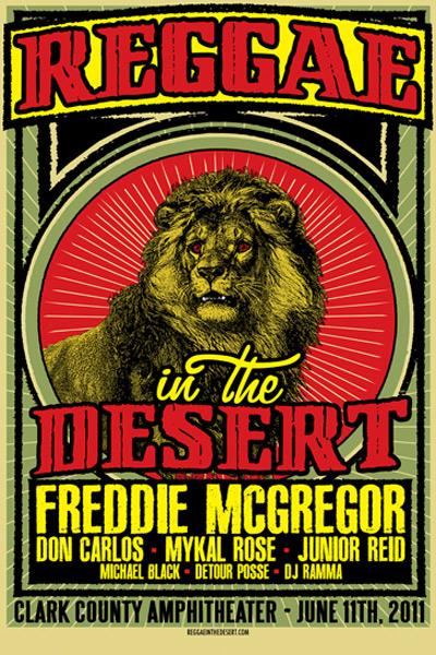 Reggae In The Desert 2011