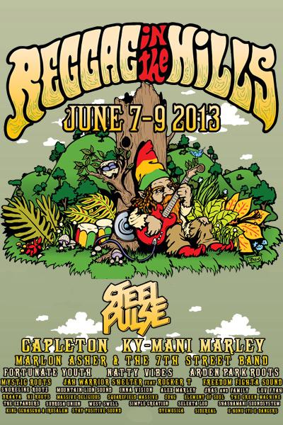 Reggae In The Hills 2013