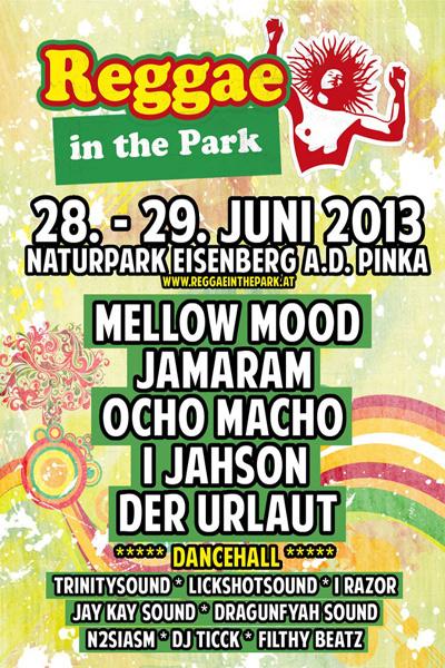 Reggae In The Park 2013