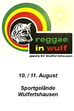 Reggae In Wulf 2012
