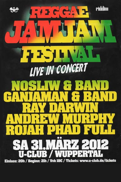 Reggae JamJam Festival 2012