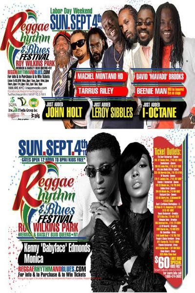 Reggae Rhythm & Blues Festival