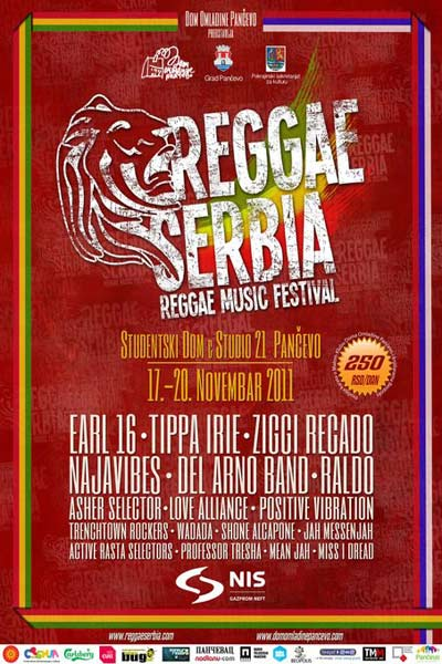 Reggae Serbia Festival 2011