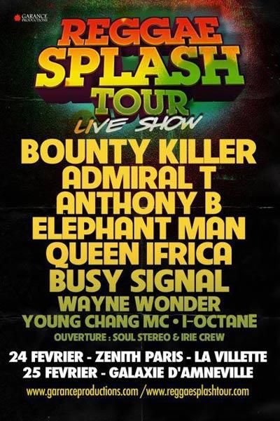 Cancelled: Reggae Splash 2012 II
