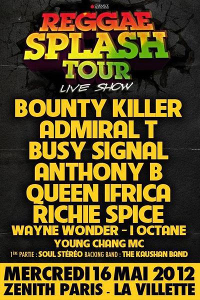 Reggae Splash Tour