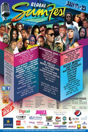 Reggae Sumfest 2011