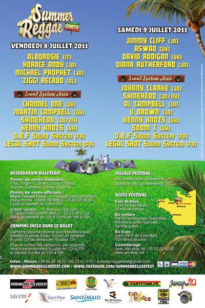 Summer Reggae Fest 2011