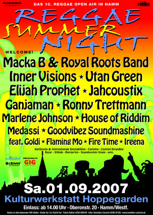 Reggae Summer Night 2007