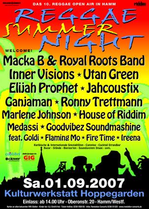 Reggae Summer Night 2007