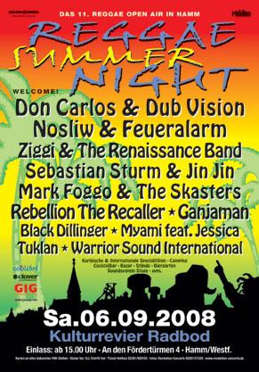 Reggae Summer Night 2008