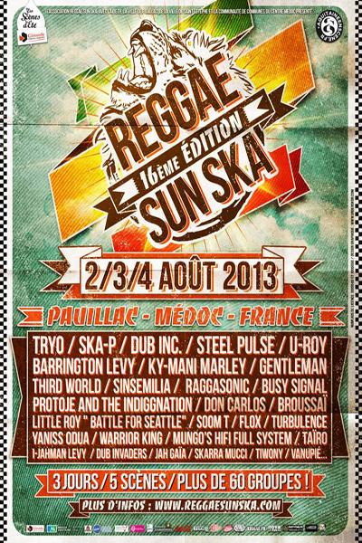 Reggae Sun Ska 2013