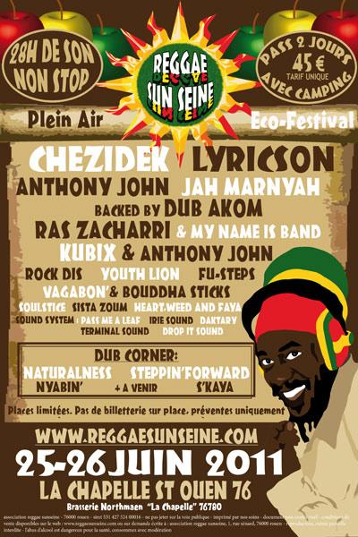Reggae Sun Seine 2011