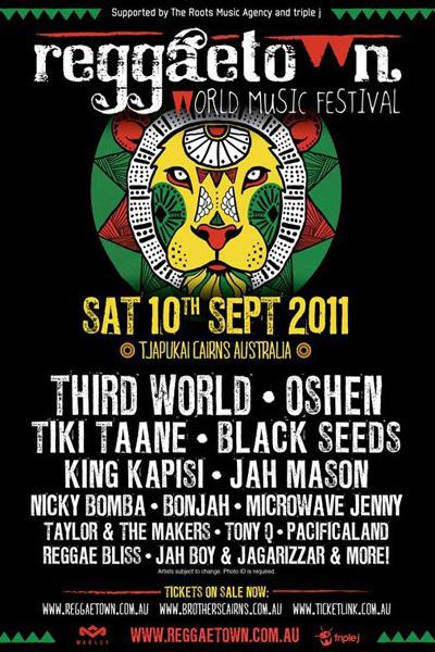 Reggaetown World Music Festival