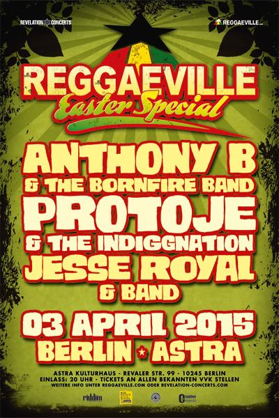 Reggaeville Easter Special - Berlin 2015