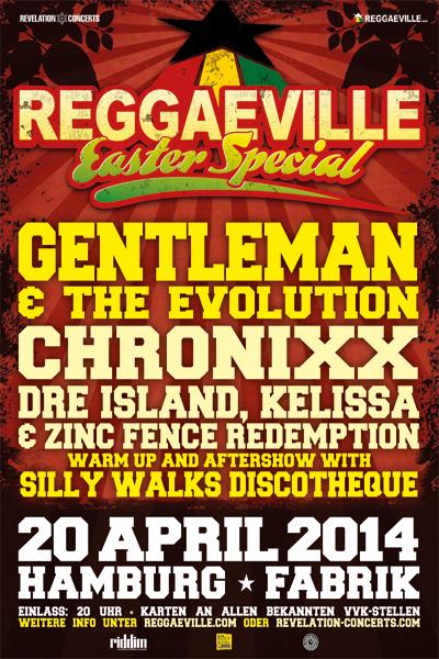 Reggaeville Easter Special - Hamburg 2014