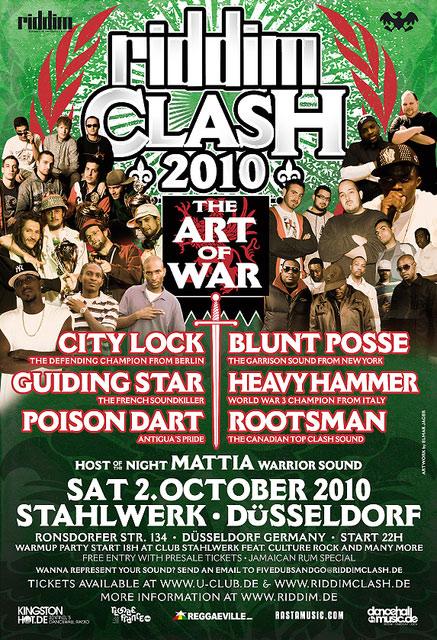 Riddim Clash 2010