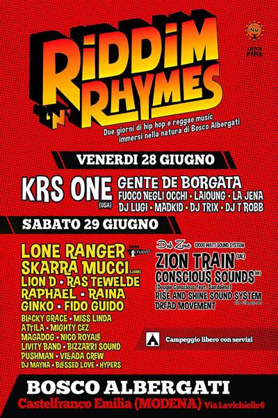 Riddim 'N' Rhymes 2013