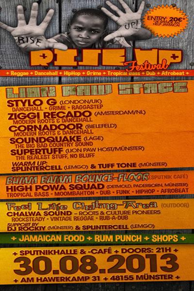 Rise Up Festival 2013