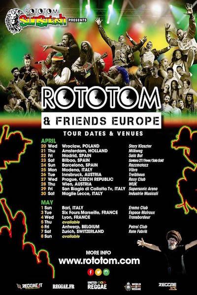 Rototom & Friends - Antwerp 2016