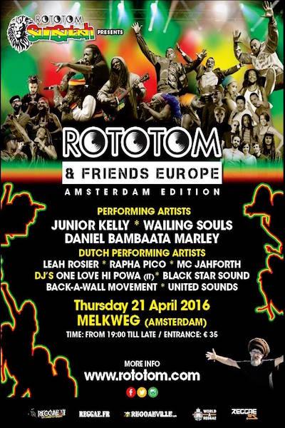 Rototom & Friends - Amsterdam 2016