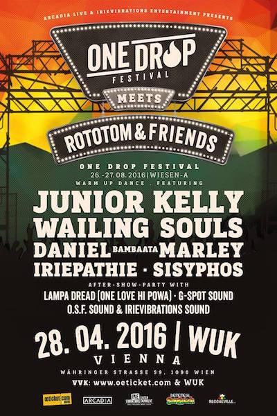 One Drop Festival meets Rototom & Friends - Vienna 2016