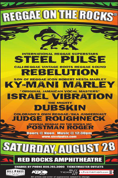 Reggae On The Rocks 2010