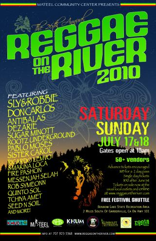 Reggae On The River 2010