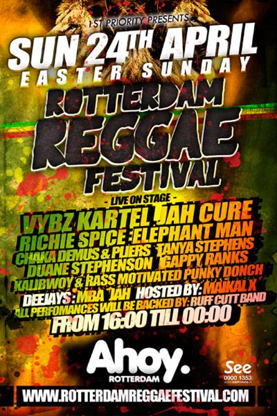 Rotterdam Reggae Festival 2011