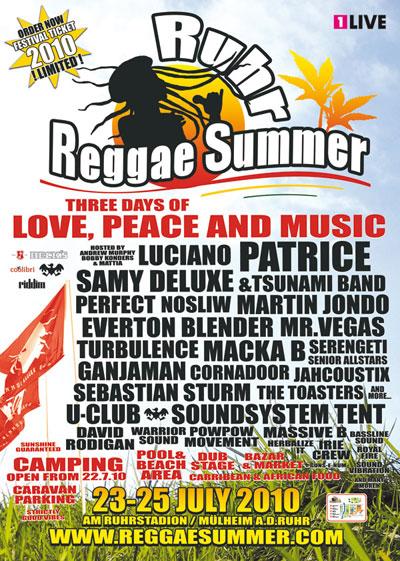 Ruhr Reggae Summer 2010