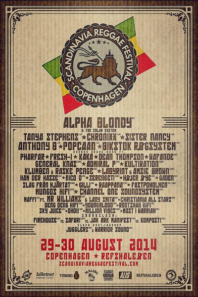 Scandinavia Reggae Festival 2014