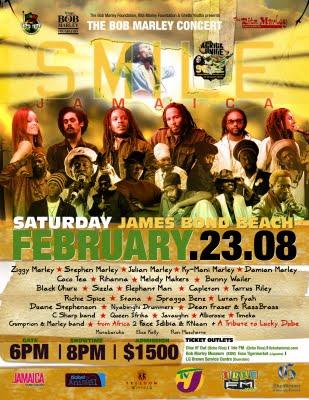 Smile Jamaica / Africa Unite 2008