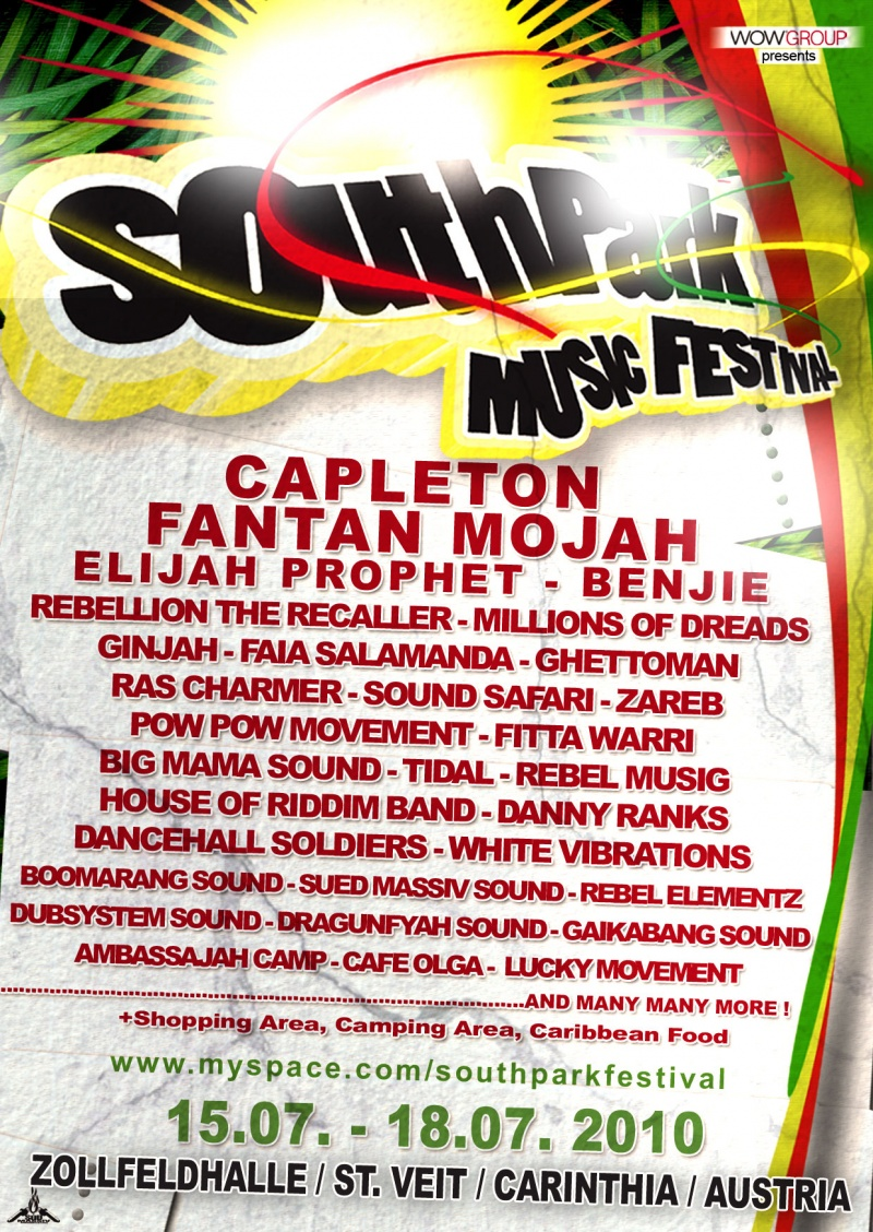South Park Reggae Festival 2010