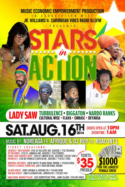 Stars In Action 2014